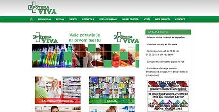 Apoteka Viva, Niš (stara verzija)
