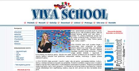 Škola jezika Viva School (stara verzija)