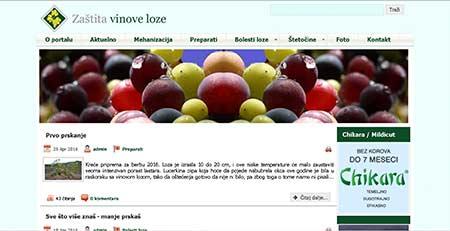 Portal Zaštita vinove loze