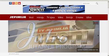 TV Jefimija, Kruševac (stara verzija)