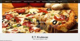 E.T. caffe, restoran i picerija