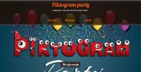 Piktogram party program