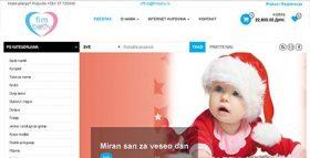 FIM baby - baby konfekcija, prva verzija