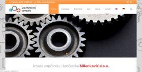 Izrada zupčanika i lančanika Milenković d.o.o., Kruševac