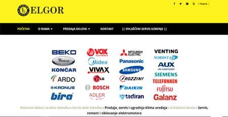 ELGOR, servis i prodaja delova, Kruševac