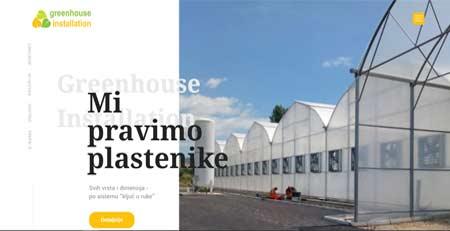 Izgradnja staklenika i plastenika, Kruševac