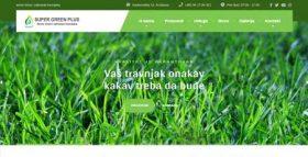 Super green plus - seme trava i zalivanje travnjaka, Kruševac
